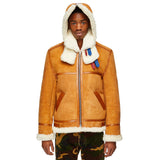 Sheepskin Hooded Aviator