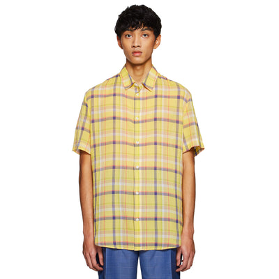 OVERSIZED CASUAL SHIRT YELLOW