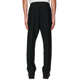 Formal Drawstirng Trousers Black