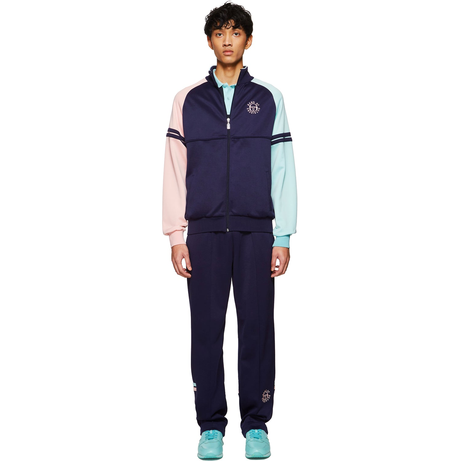 SERGIO TACCHINI X BAND OF OUTSIDERS TRACKSUIT NAVY