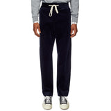 Navy Formal Drawstring Trousers