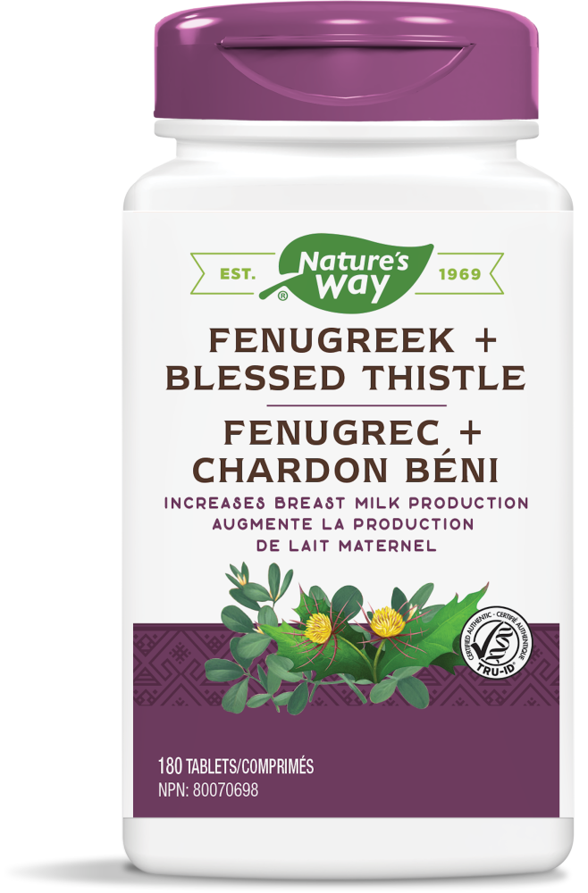Nature's Way Fenugreek+Blessed Thistle 180s