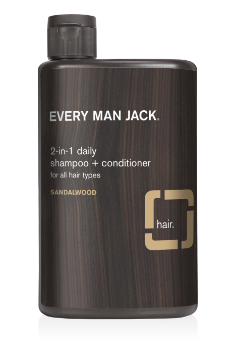 Every Man Jack 2in1 Sandalwood Shampoo and Conditioner