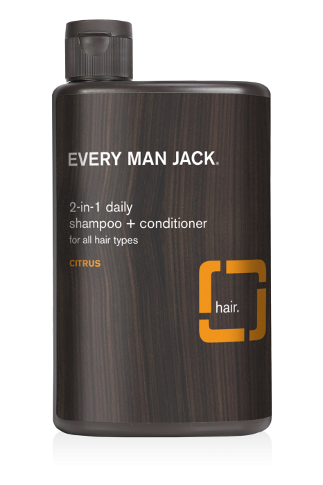 Every Man Jack Citrus 2-in-1 Daily Shampoo and Conditioner