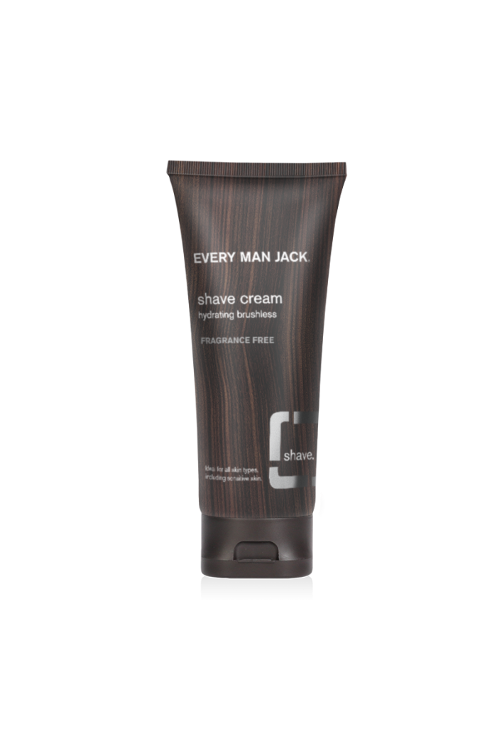 Every Man Jack Fragrance Free Shave Cream 200ml