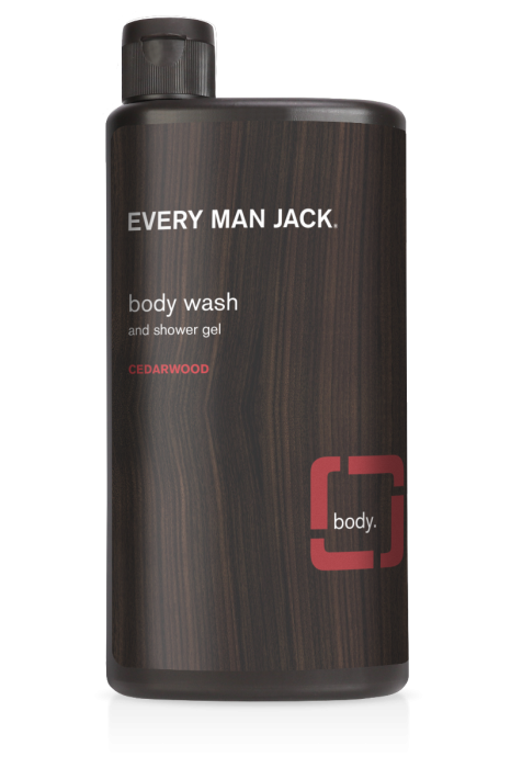 Every Man Jack Cedar Wood Body Wash 500ml