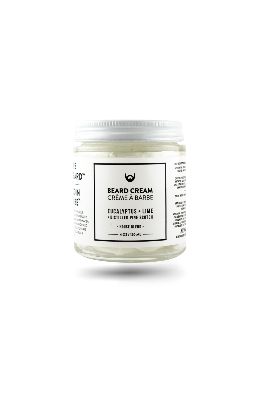 Always Bearded Beard Cream Eucalyptus, Lime, Pine 120ml