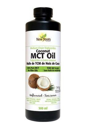 New Roots Coconut MCT Oil 500ml