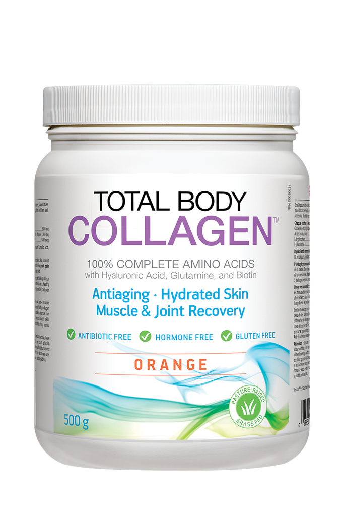 Natural Factors Total Body Collagen - Orange Flavour 500g