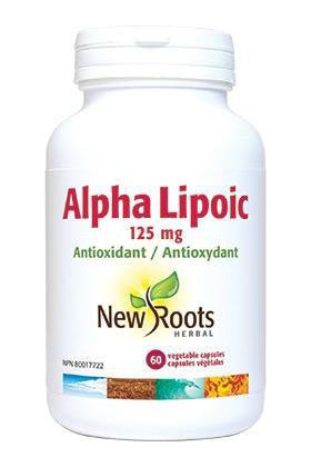 New Roots Alpha Lipoic 125 mg 60s