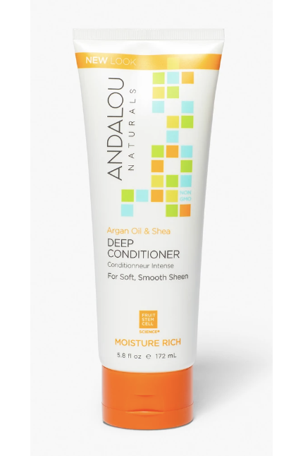 Andalou Argan Oil & Shea Moisture Rich Deep Conditioner 172ml