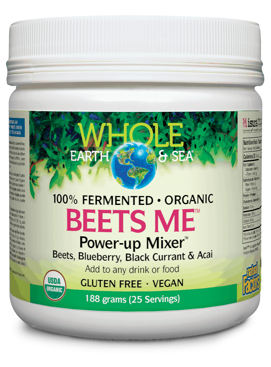 Whole Earth & Sea Beets Me Power-Up Mixer 188g