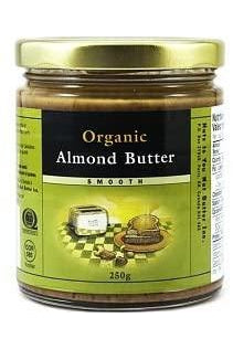 Nuts to You Organic Almond Butter - Smooth 250g