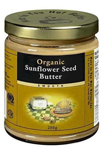 Nuts to You Organic Sunflower Seed Butter - Smooth 250g