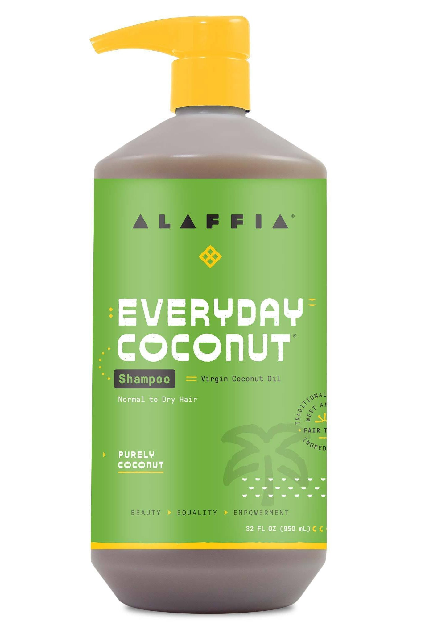 Alaffia Everyday Coconut Shampoo - Purely Coconut 950ml