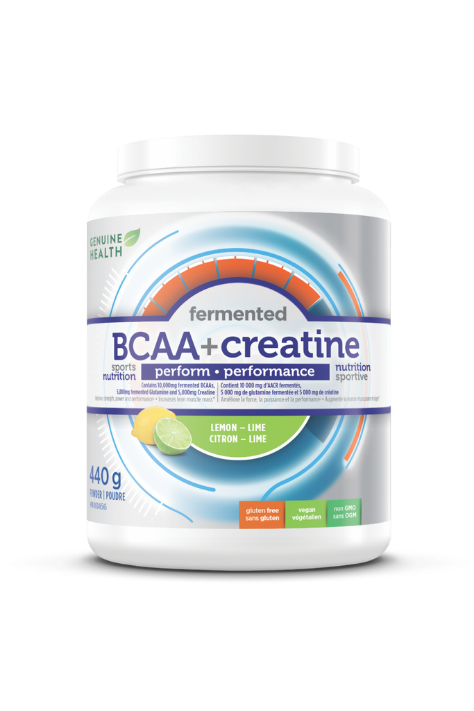 Genuine Health BCAA & Creatine 440g