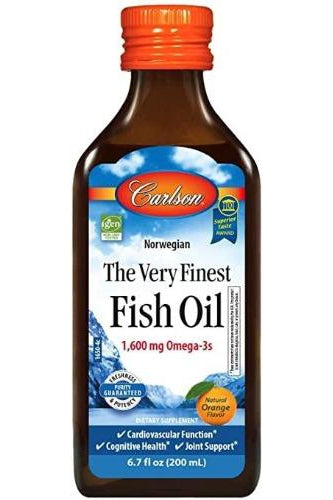 Carlson Fish Oil Orange 200ml