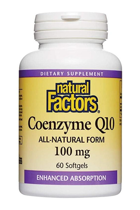 Natural Factors Coenyzme Q10 200 mg 60s