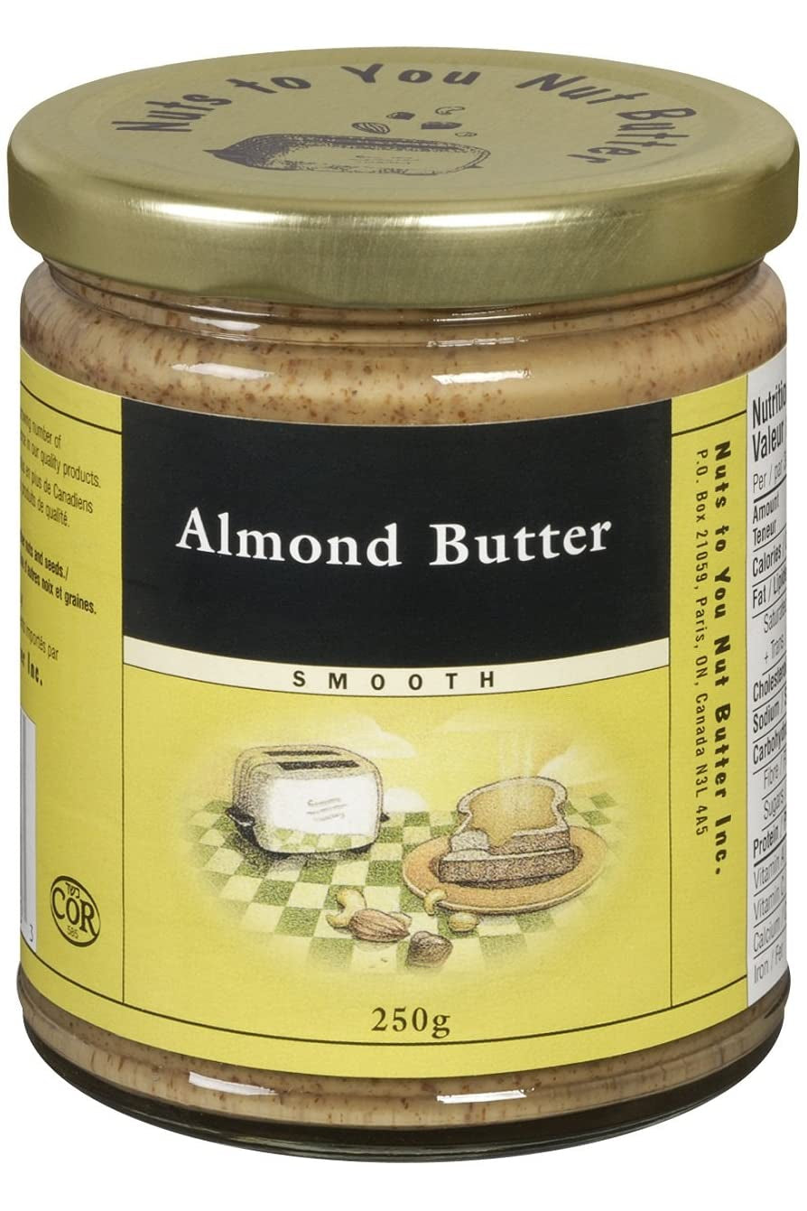 Nuts to You Almond Butter - Smooth 250g