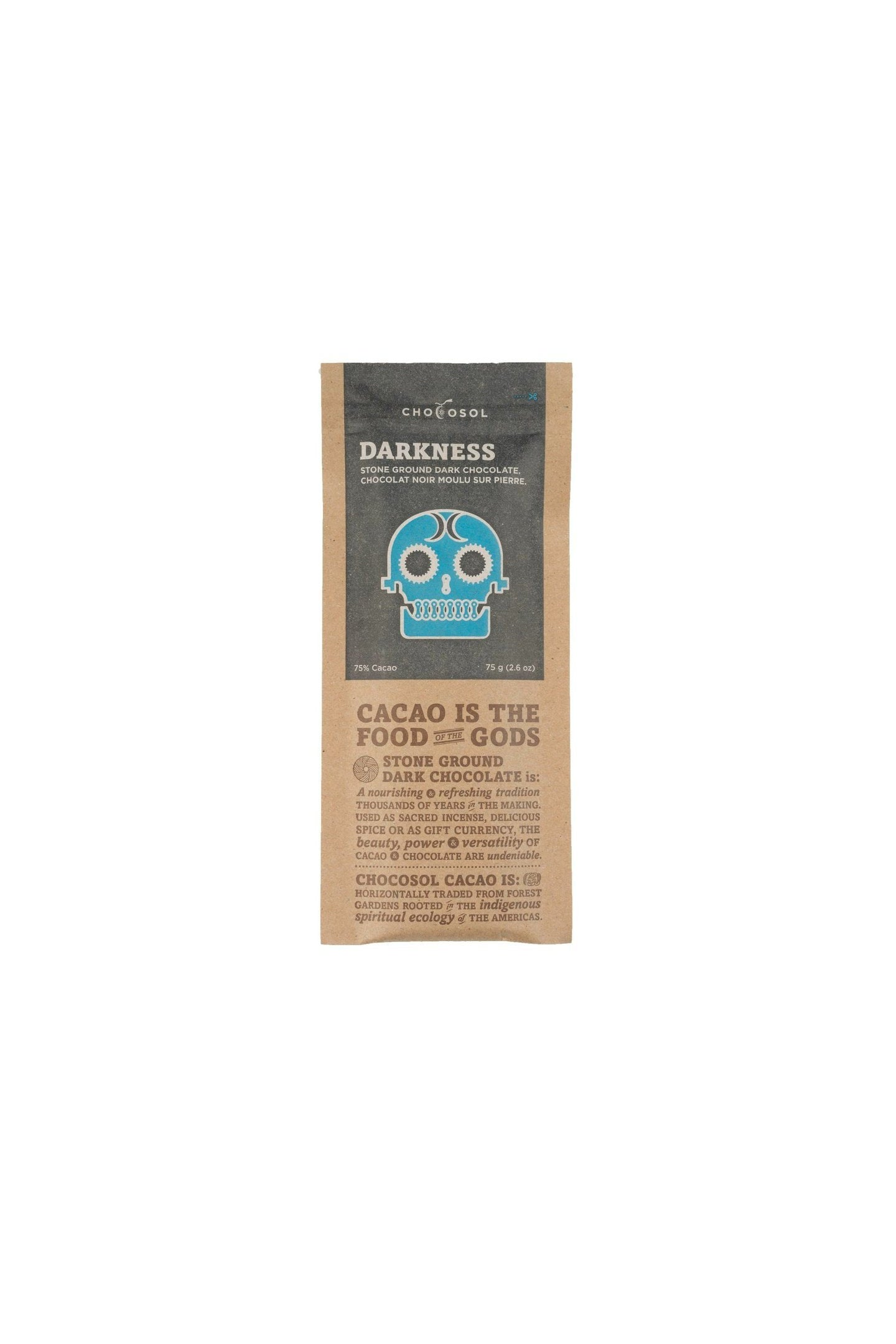 Chocosol Darkness Bar 75g