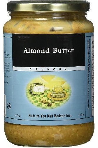 Nuts to You Almond Butter - Crunchy 735g