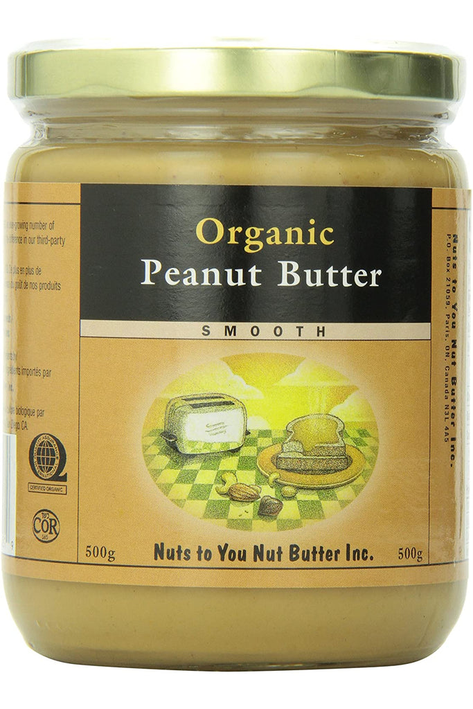 Nuts to You Organic Peanut Butter - Smooth 500g