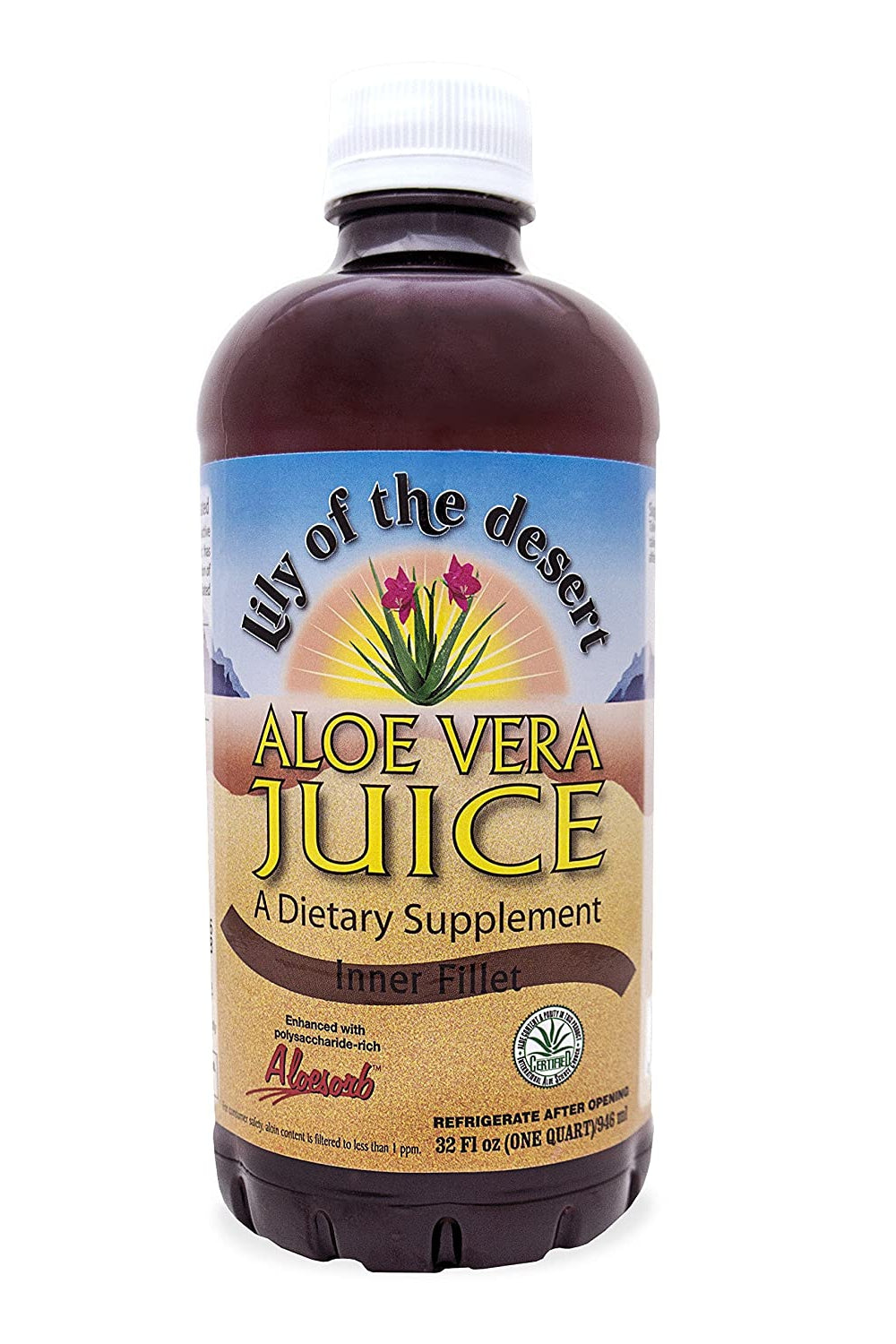 Lily of the Desert Aloe Vera Juice - Inner Fillet 946ml