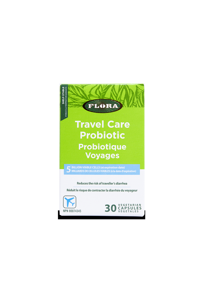 Flora Travel Care Probiotic 30s
