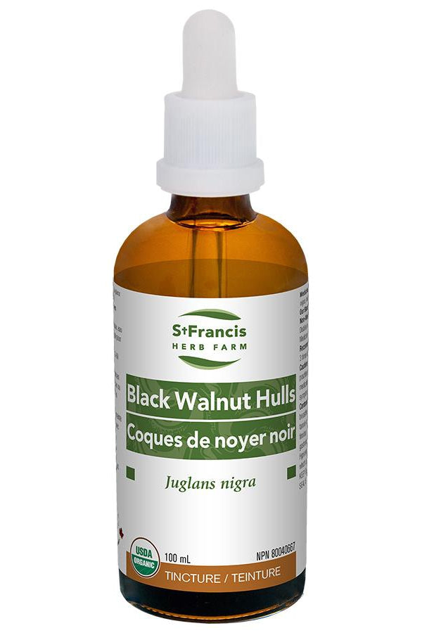 St. Francis Black Walnut Hulls 100ml