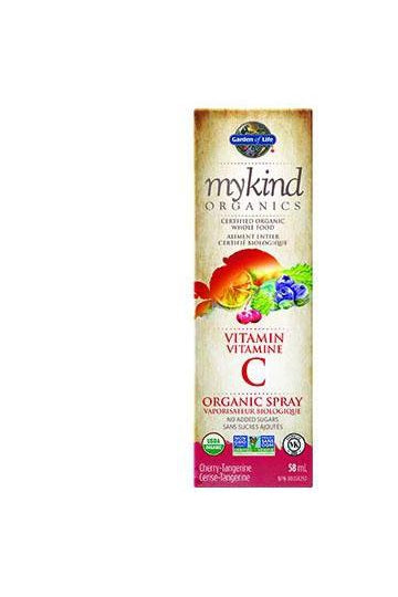 Garden of Life mykind Organics Vitamin C Spray - Cherry Tangerine 58ml
