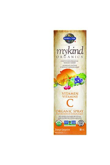 Garden of Life mykind Organics Vitamin C Spray - Orange Tangerine 58ml
