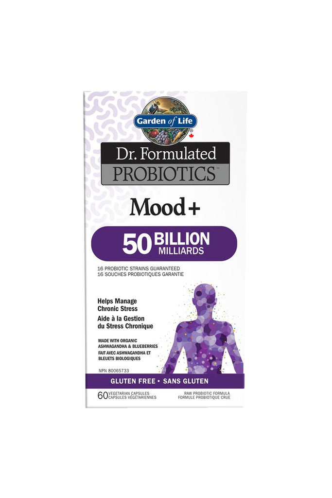 Garden of Life Dr. Formulated Probiotics Mood+ 50 Billion CFU Cooler 60s