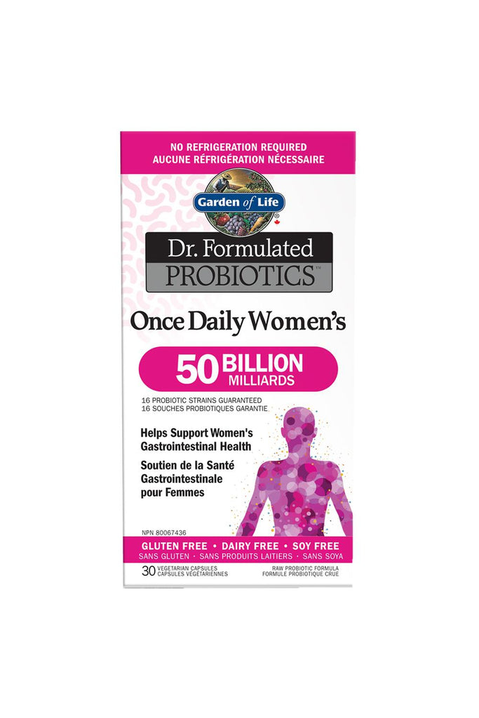 Garden of Life Dr. Formulated Probiotics Once Daily Women's Shelf-Stable 50 Billion CFU Shelf-Stable 30s