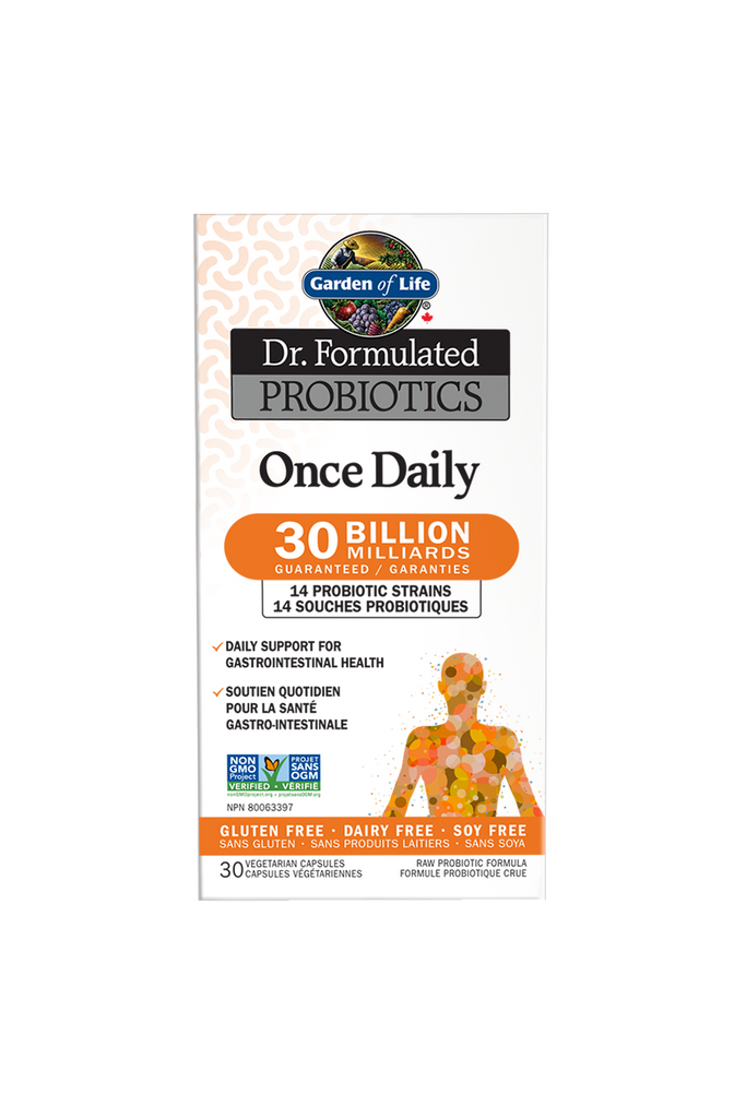 Garden of Life Dr. Formulated Probiotics Once Daily 30 Billion CFU Cooler 30s