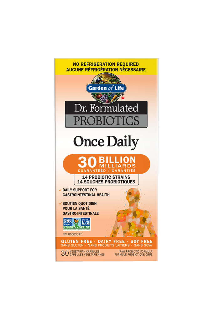 Garden of Life Dr. Formulated Probiotics Once Daily 30 Billion CFU Shelf-Stable 30s