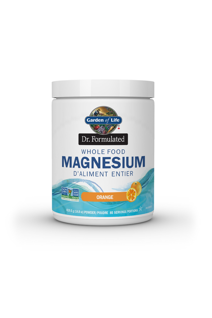 Garden of Life Dr. Formulated Whole Food Magnesium - Orange 419.5g