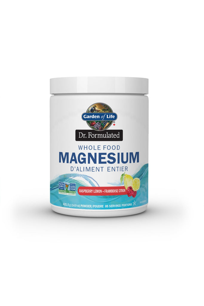 Garden of Life Dr. Formulated Whole Food Magnesium - Raspberry Lemon 419.5g