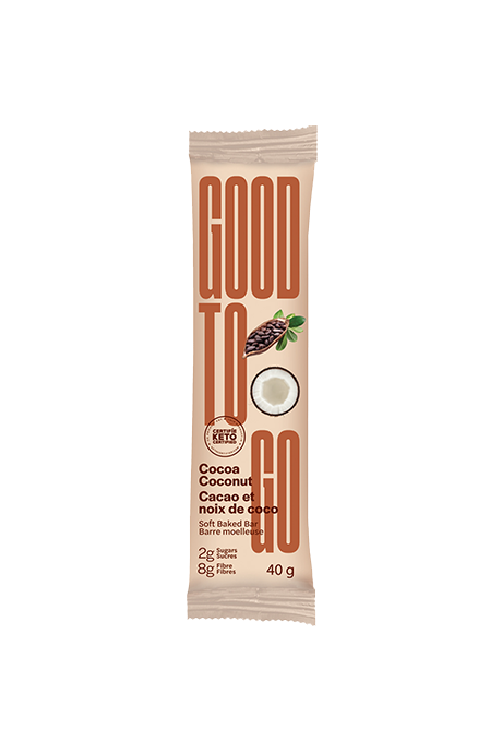 Good To Go Cocoa Coconut Snack Bar 40g