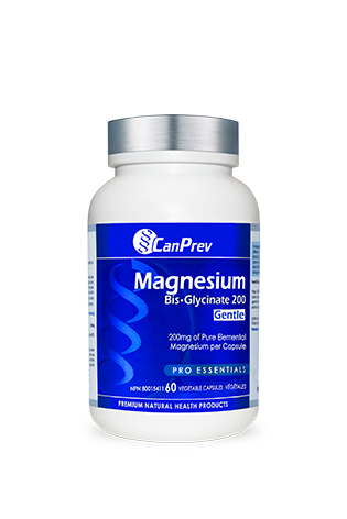 CanPrev Magnesium Bis-Glycinate 200mg Gentle 60s