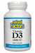 Natural Factors Vitamin D3 1000 IU 500s