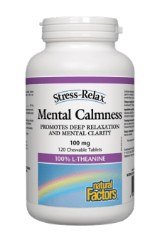 Natural Factors Mental Calmness 120s