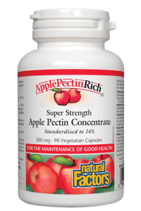 Natural Factors ApplePectinRich Super Strength Apple Pectin Concentrate 500 mg 90s