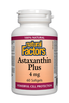 Natural Factors Astaxanthin Plus 4 mg 60s