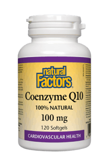 Natural Factors Coenzyme Q10 100 mg 120s