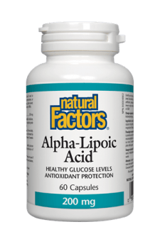 Natural Factors Alpha-Lipoic Acid 200 mg 60s