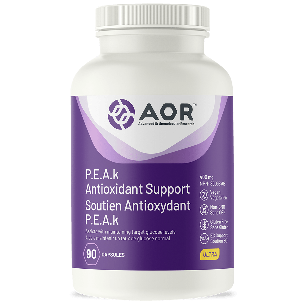 AOR PEAk  Antioxidant Support 90s