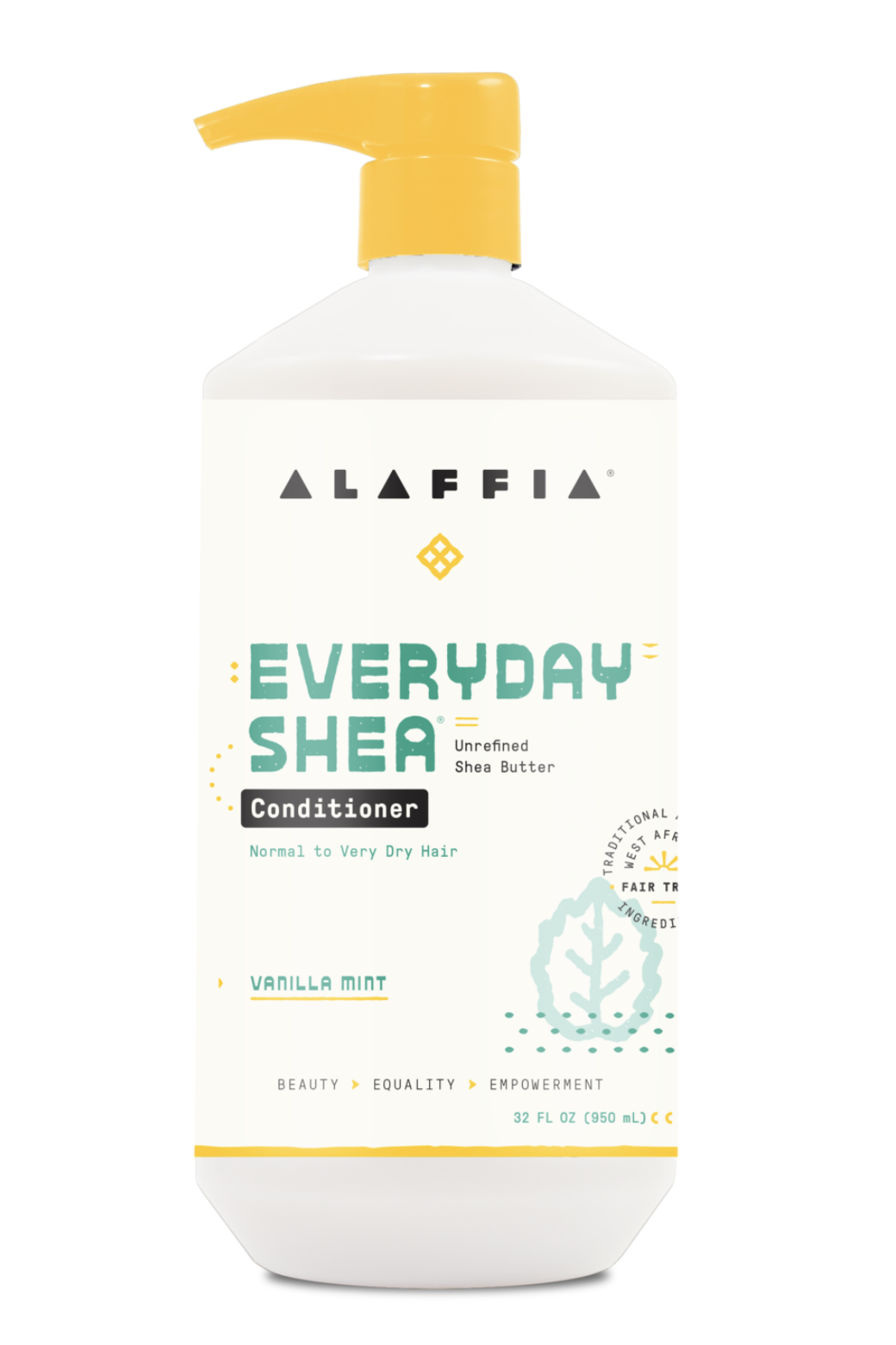 Alaffia Everyday Shea Conditioner - Vanilla Mint 950 ml
