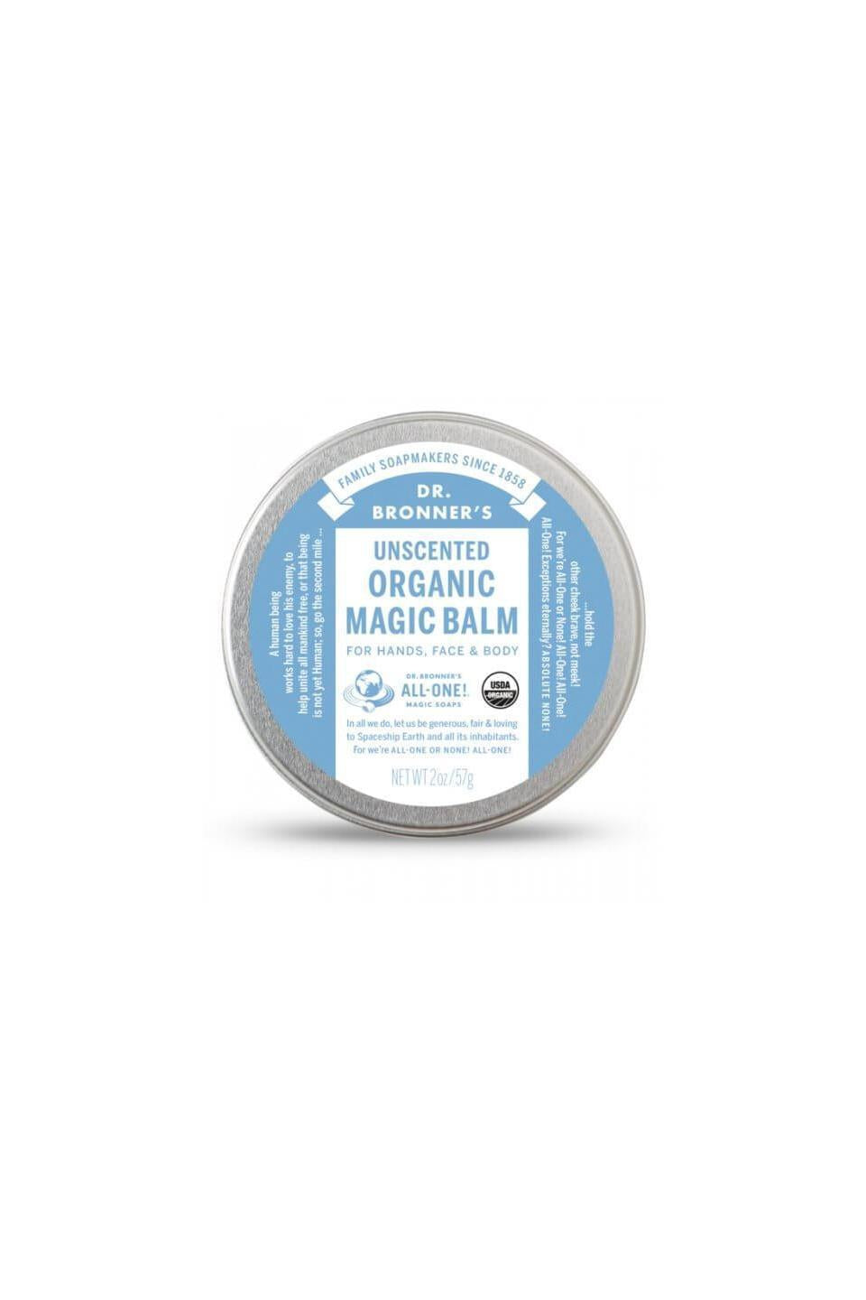 Dr Bronner's Magic Balm Unscented 57g