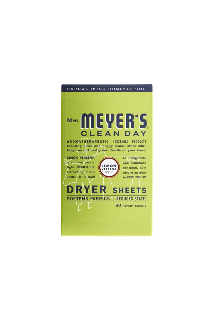 Mrs Meyer's Dryer Sheets Lemon 80ct