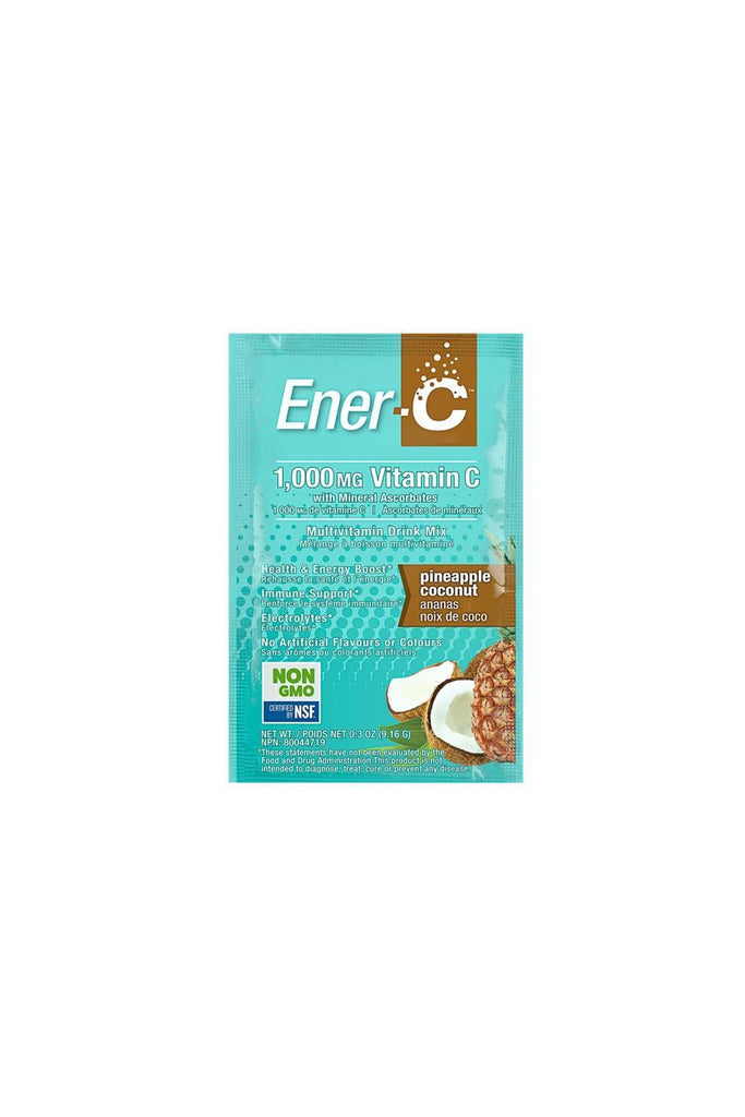 Ener-C Pineapple Coconut Multivitamin Drink Mix - 1,000mg Vitamin C 1 Sachet